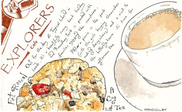 Explorers - Afternoon tea