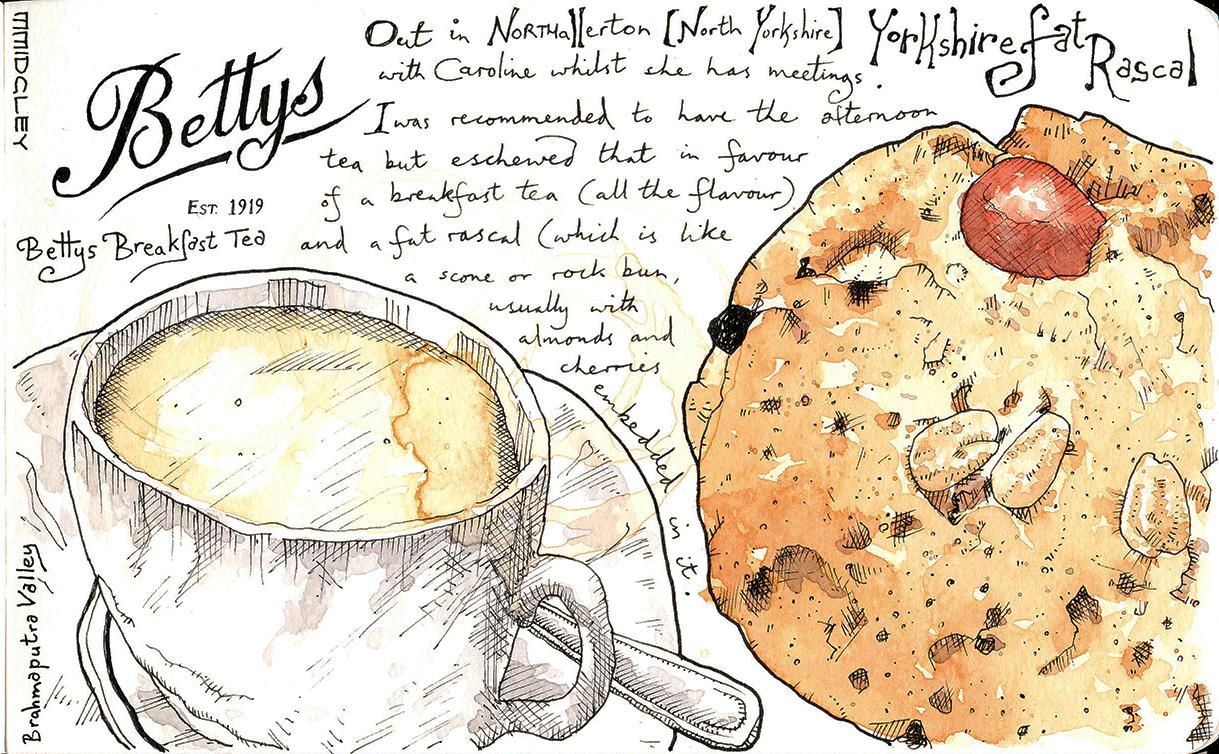 Bettys Tea Room Breakfast