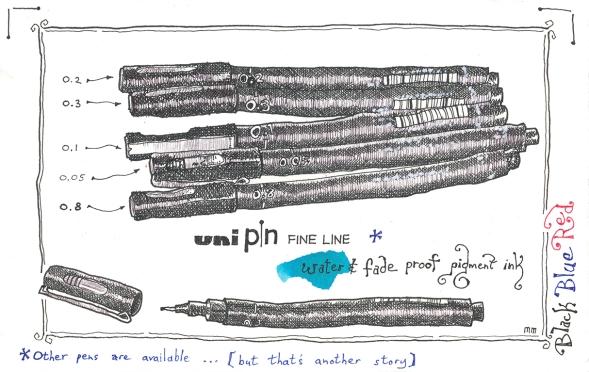 Materials - Pens - Unipin sm