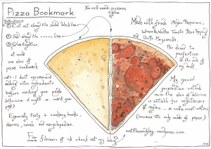 Bookmark - Pizza