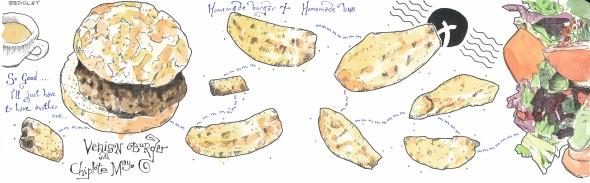 The Bivouac - Venison burger 2 sm