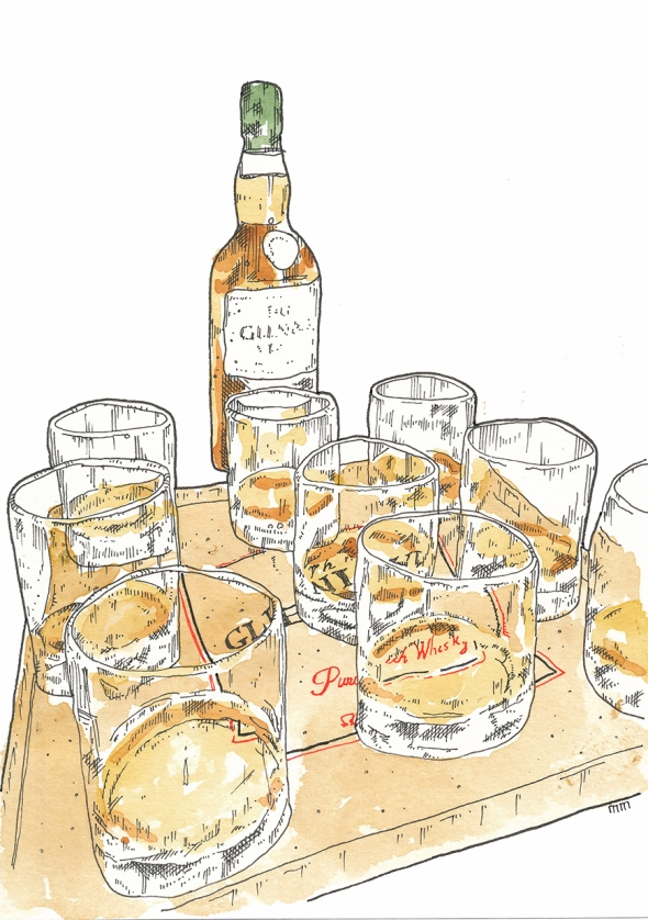 Whisky glasses sm