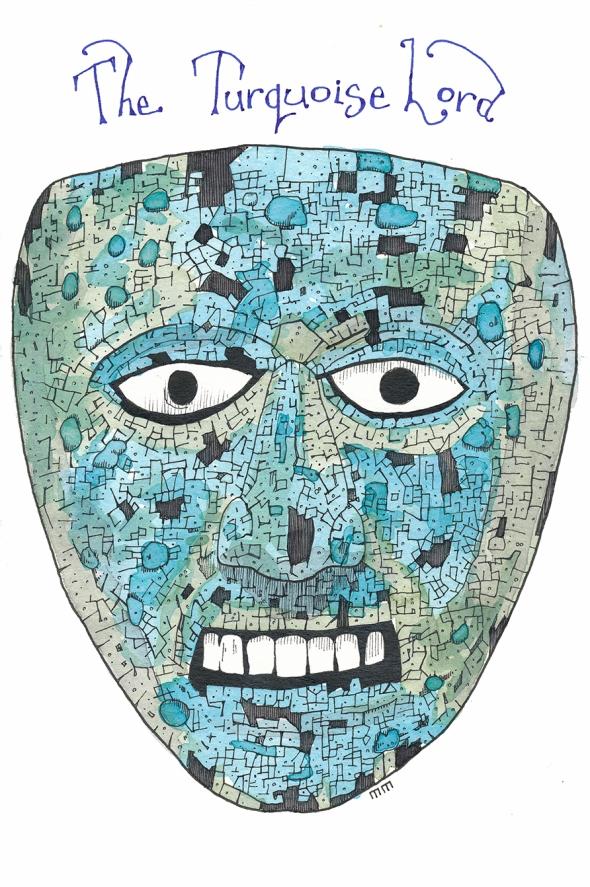 Aztec mask sm