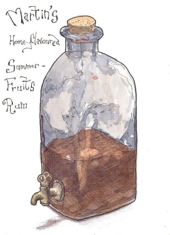 Rum pot small