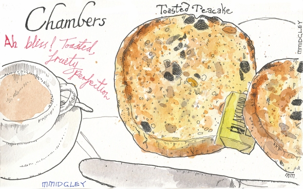 Chambers toasted teacake sm